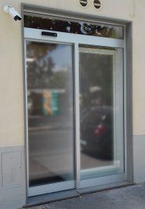 porta ingresso automatica - bugliani serramenti